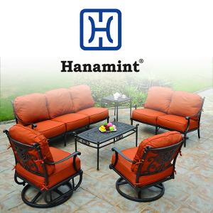 Peachy Hanamint Patio Furnture Viking Casual Furniture Bralicious Painted Fabric Chair Ideas Braliciousco