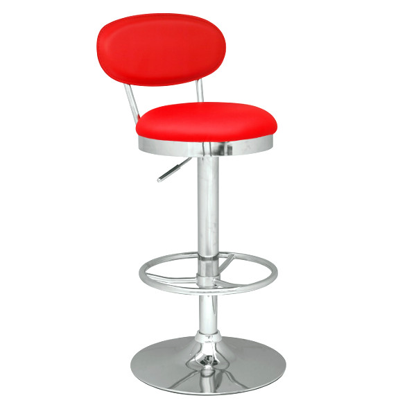 Adjustable Stool in Red