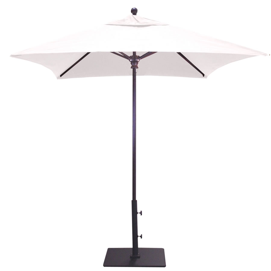 Deluxe Commercial Use Square Umbrella – 6'