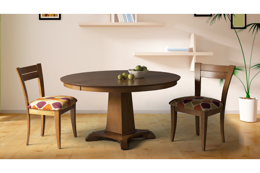 Artisan Pedestal Base Table