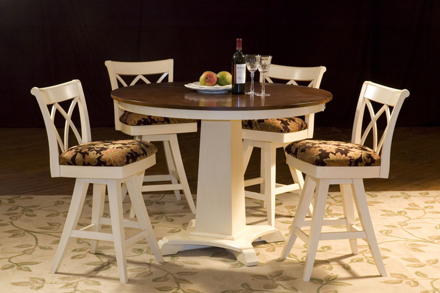 Artisan Pedestal Base Pub Table