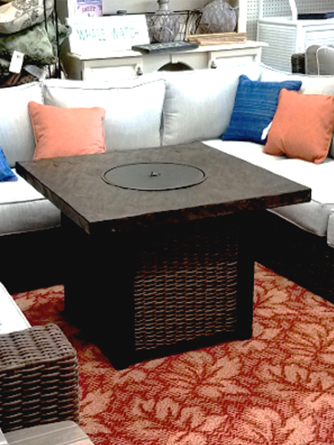 Alta Grande Fire Table - Bronze Finish