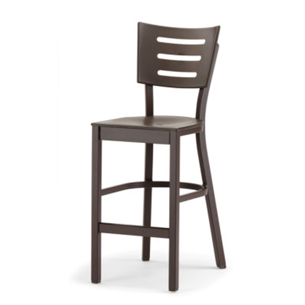 Avant Balcony Height Stacking Armless Chair