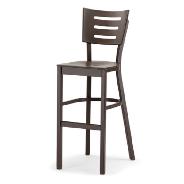 Avant Bar Height Stacking Armless Chair