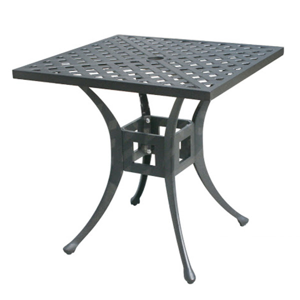 Side Table - Basket Weave Pattern - 36""