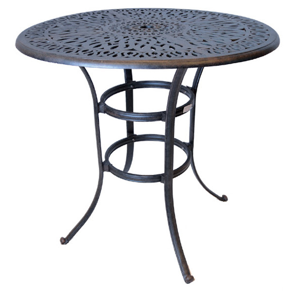 Bar Table - Floral Pattern - 42""