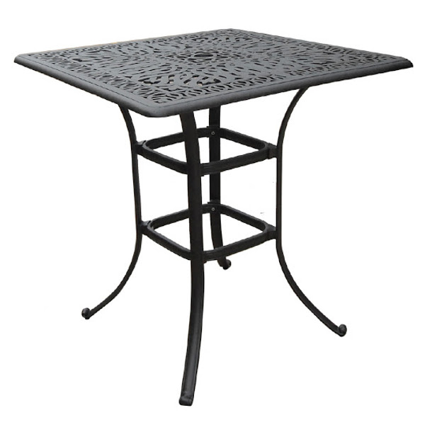 Bar Table - Floral Pattern - 36""