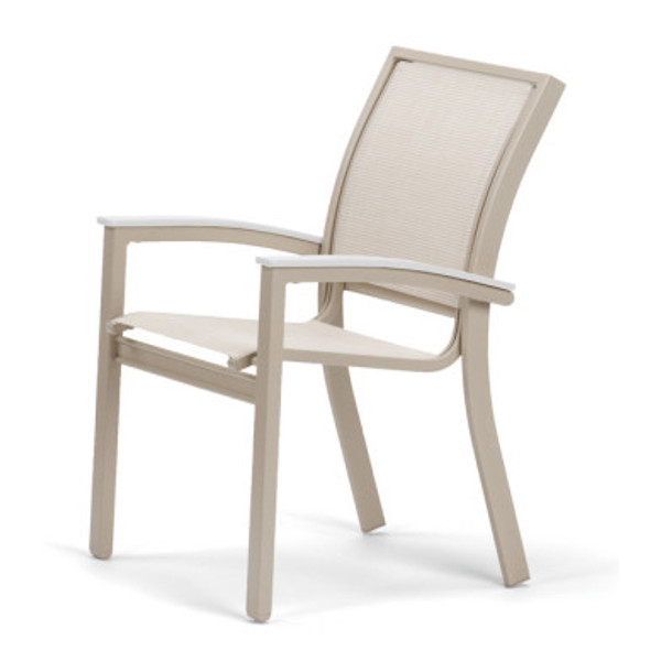 Bazza Sling Dining Height Stacking Cafe Chair