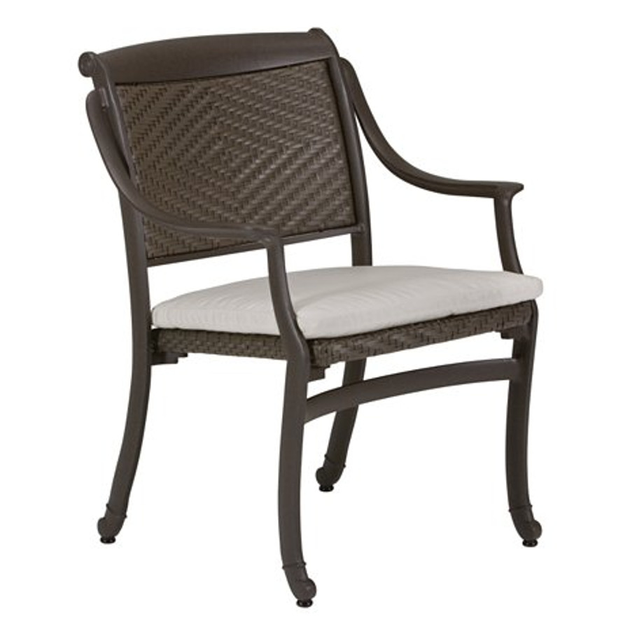 BelMar Woven Dining Chair with Pad