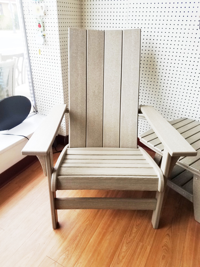 Contemporary Adirondack Chairs - Accent Table