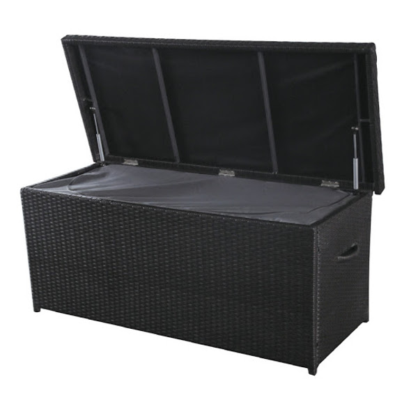 Storage Box - Wicker Cushion