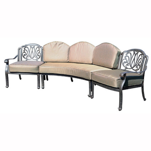 Lillian Curved Sectional Sofa