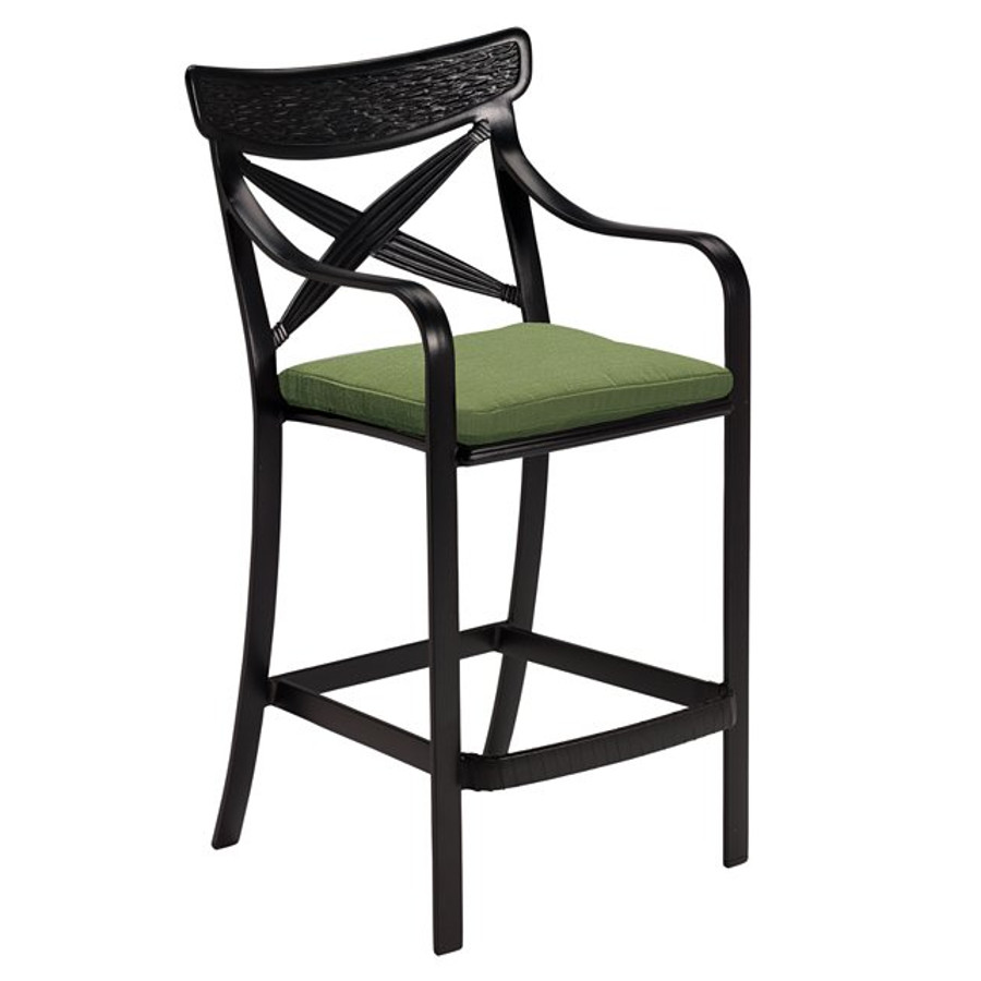 Chimaya Bar Stool with Seat Pad