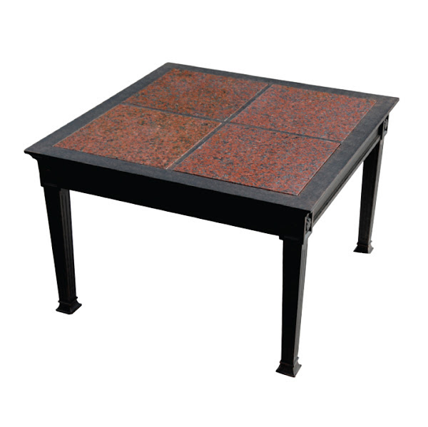 End Table - Granite Tile - 24""