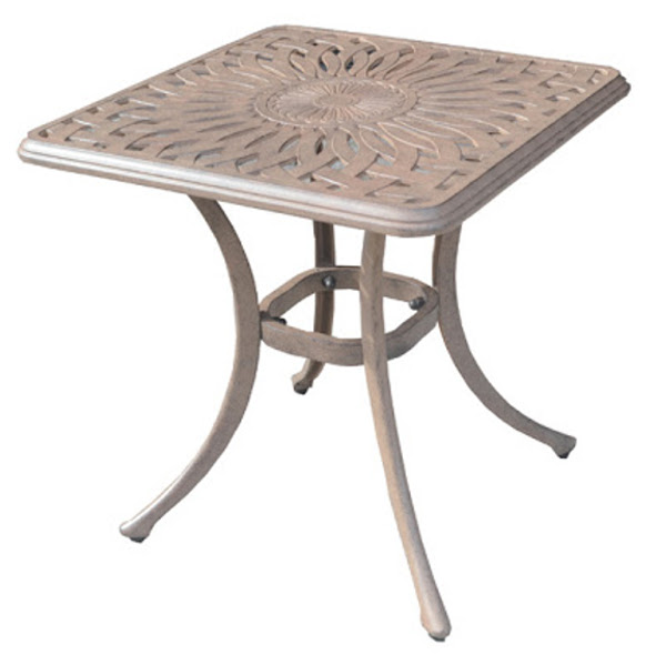 End Table - Diamond Pattern - 21""