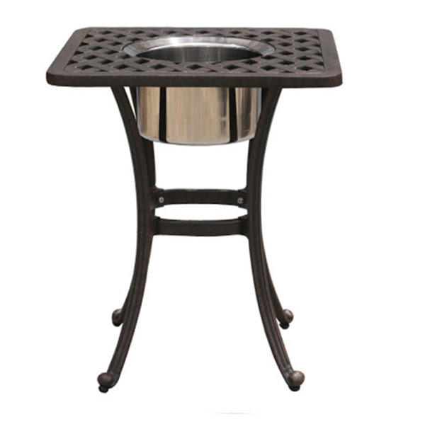 Ice Bucket Chat Table - 21""