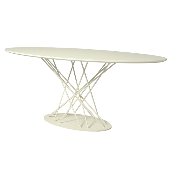 "Janette 70"" x 38"" Wood Top Oval Table"