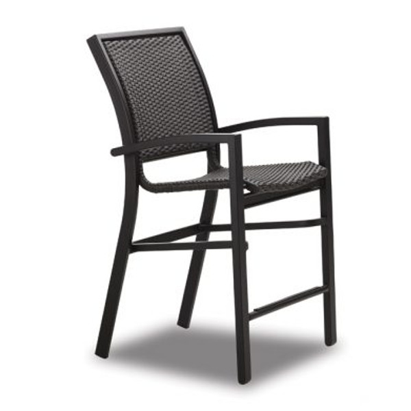 Kendall Wicker Balcony Height Stacking Cafe Chair