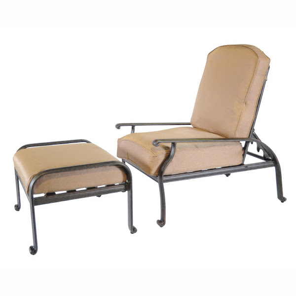 Wonderful New Providence Adjustable Back Club Chair With Ottoman