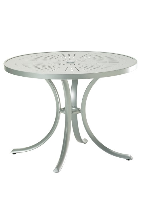 "La'Stratta 36"" Round Dining Umbrella Table"