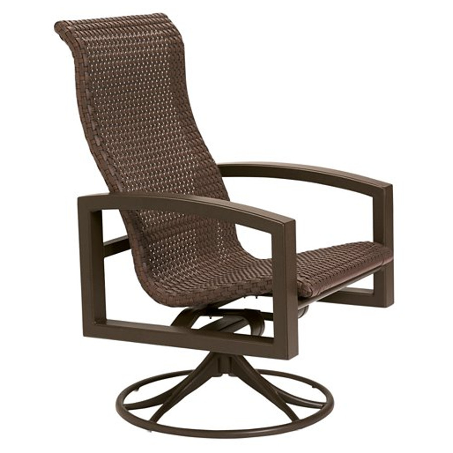 Lakeside Woven Swivel Rocker