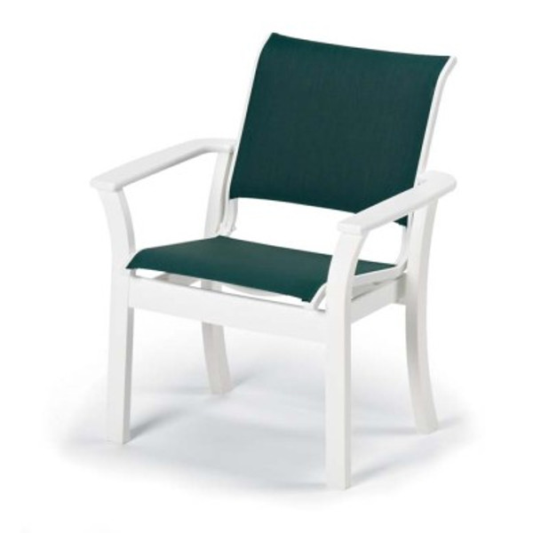Leeward Sling Stacking Cafe Chair