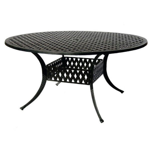 Dining Table - Basket Weave Pattern - 60""