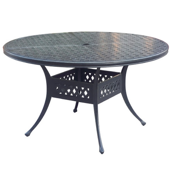 Dining Table - Basket Weave Pattern - 45""