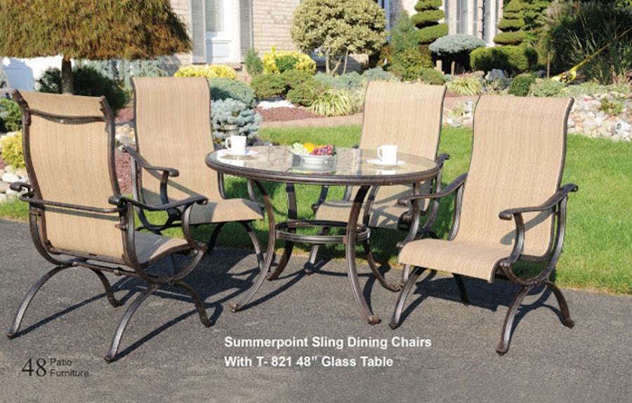 Summerpoint Sling Dining Set