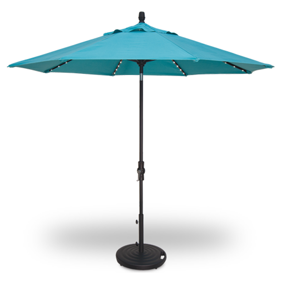 Starlight Collar Tilt Umbrella 9'