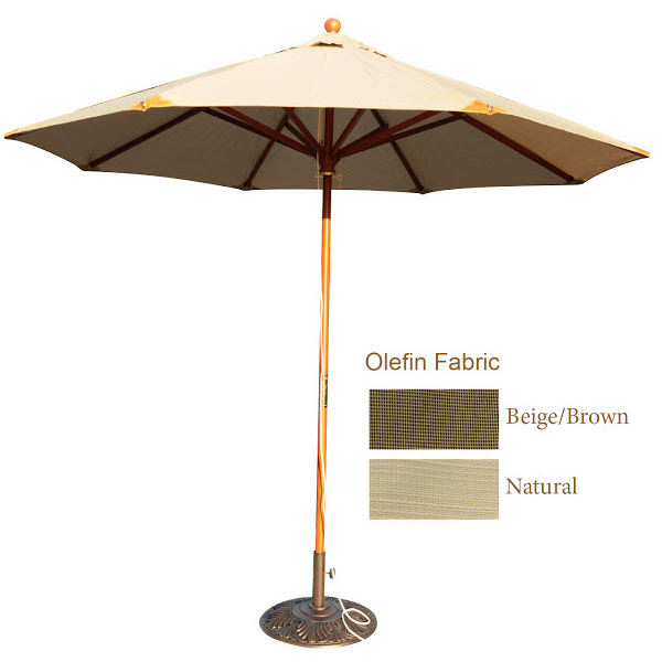 Umbrella - Indonesian Hard Wood - 9'
