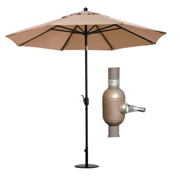 Umbrella with Auto Tilt - 9'