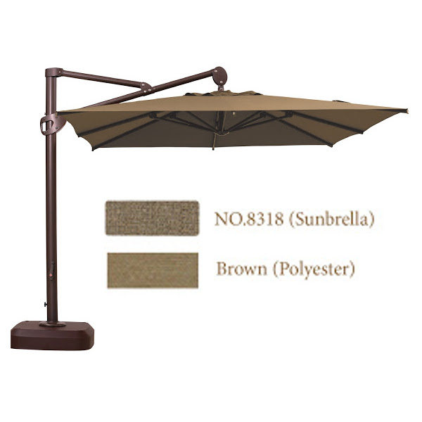 Cantilever Umbrella - 10' x 10'