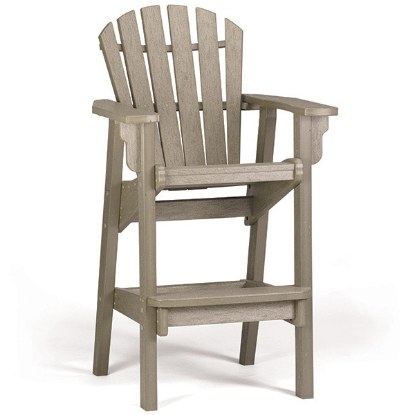 Adirondack Coastal Bar Chair
