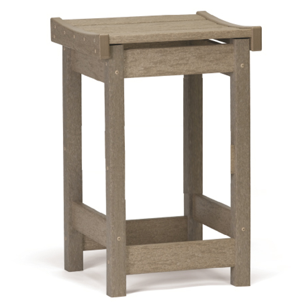 Contoured Seat Counter Stool
