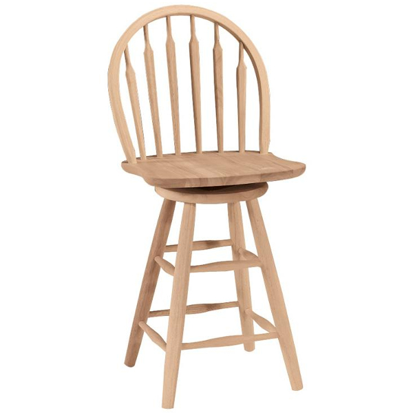Oak Arrowback Windsor Stool