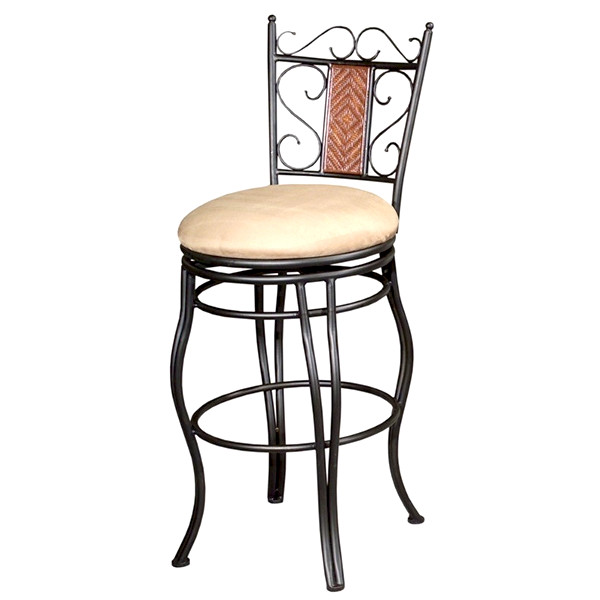 Memory Return Swivel Counter Stool