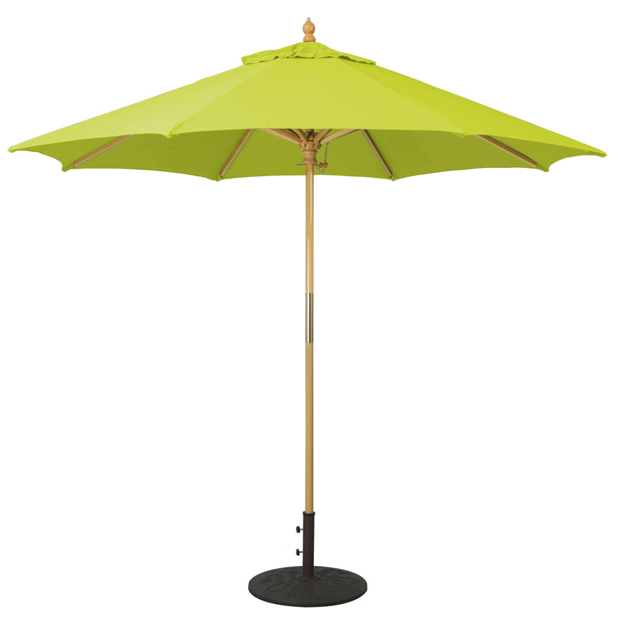 All Purpose Wood Umbrella – 9'