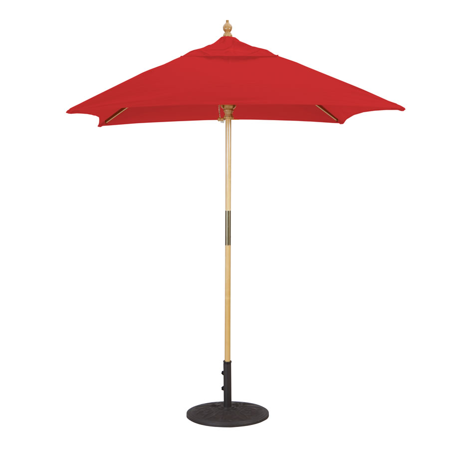 Café & Bistro Square Umbrella – 6'