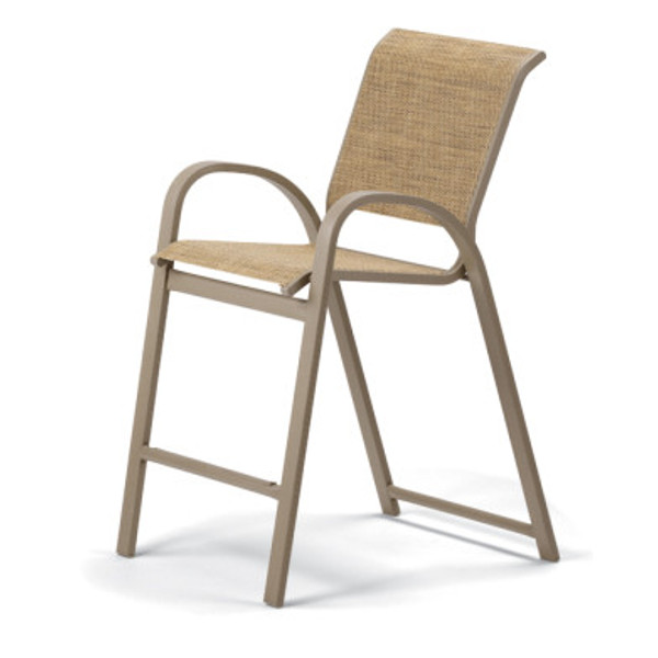 Aruba II Sling Balcony Height Stacking Cafe Chair