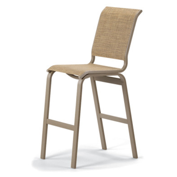 Aruba II Sling Bar Height Armless Chair