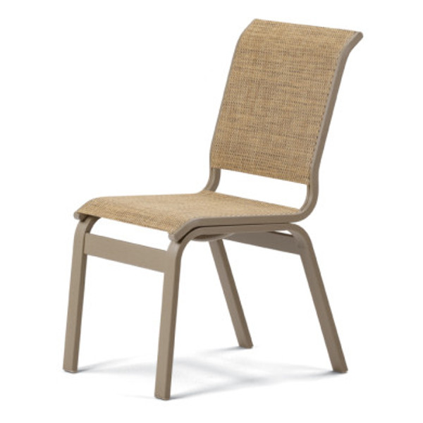 Aruba II Sling Dining Height Armless Chair