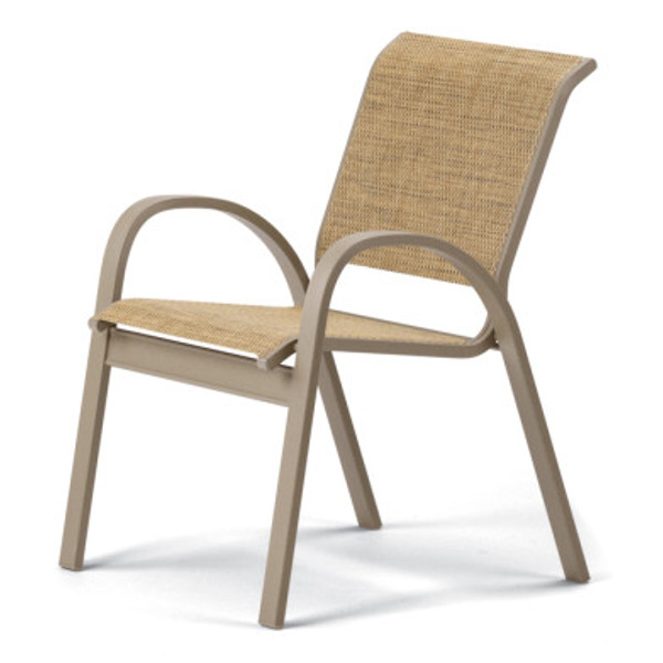 Aruba II Sling Stacking Cafe Chair