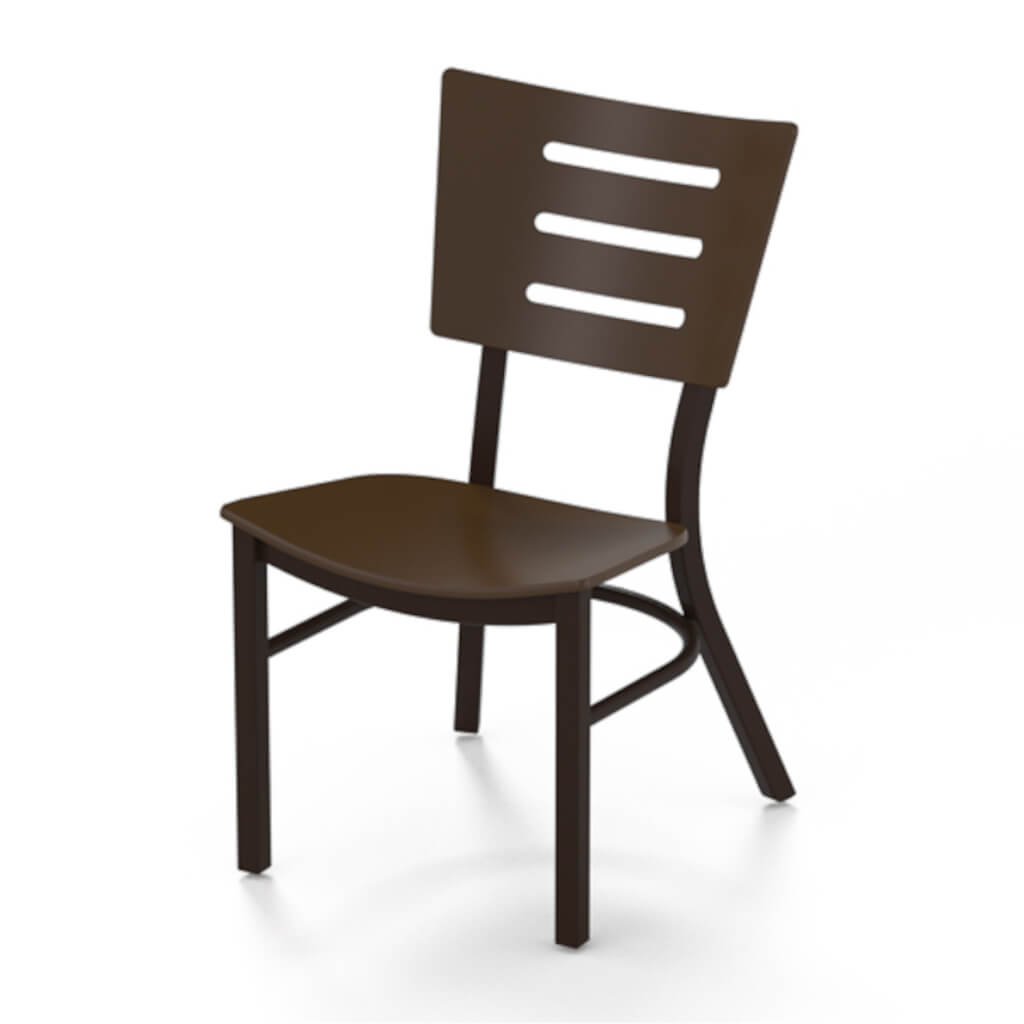 Avant MGP Aluminum Stacking Dining Chair