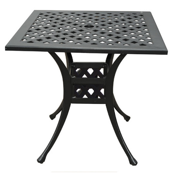 Bistro Table - Basket Weave Pattern - 30""