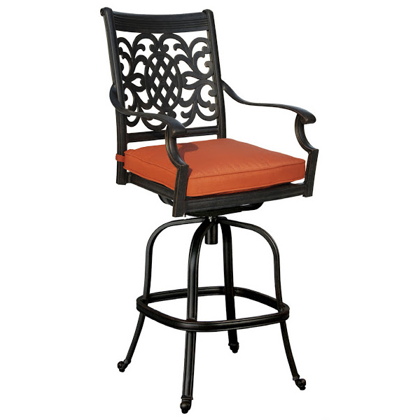 Oxford Swivel Bar Stool