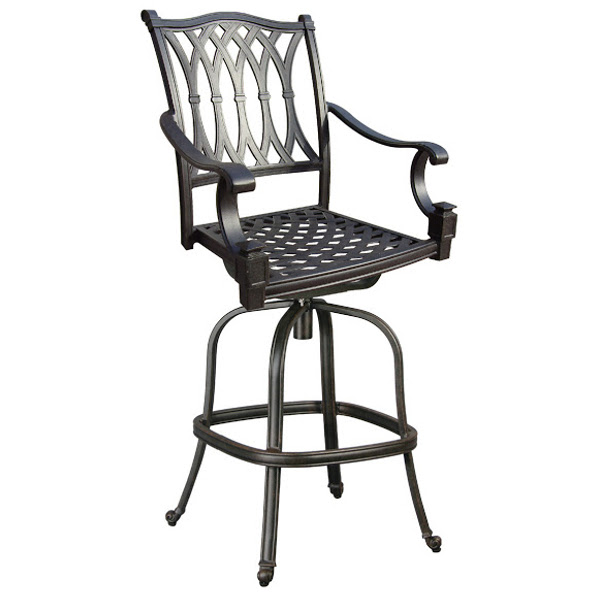 Elizabeth Swivel Bar Stool