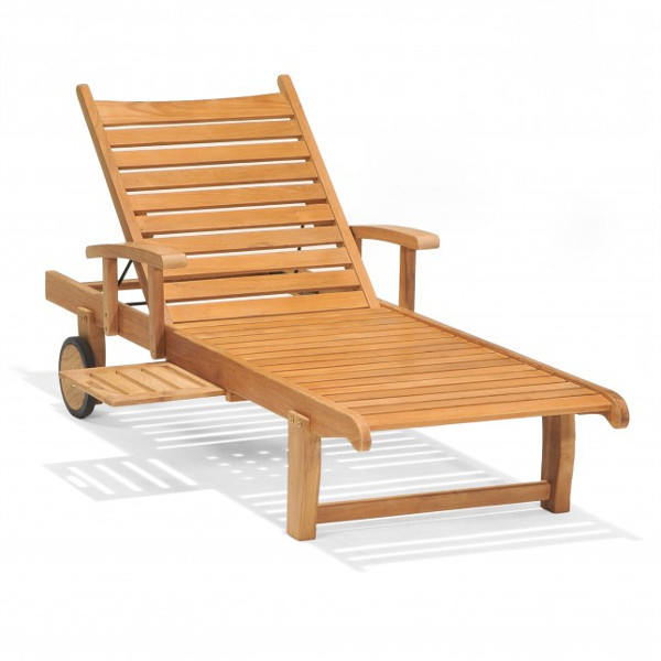 Teak - Balboa Single Adjustable Chaise Lounge