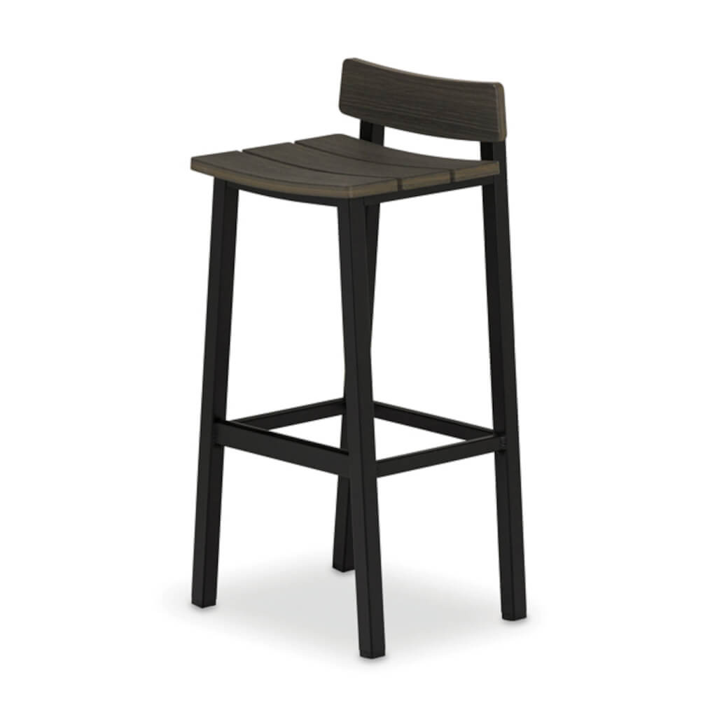 Bazza MGP Aluminum Bench Bar Height Stool