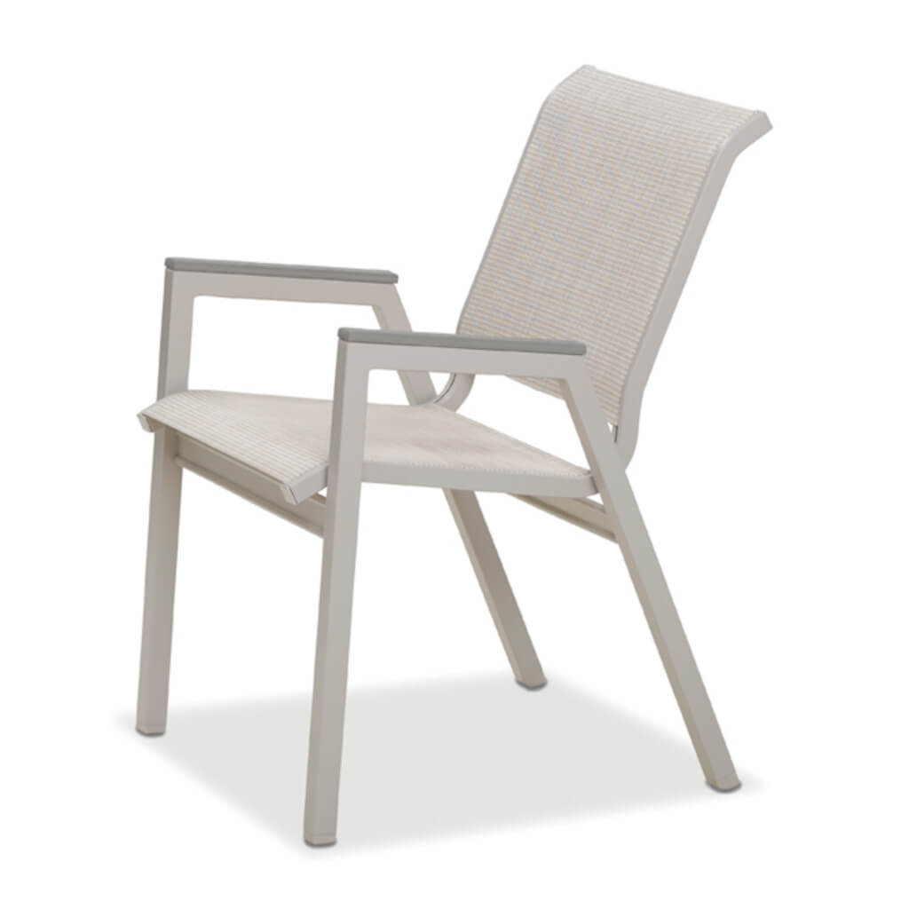 Bazza MGP Aluminum Sling Stacking Bistro Chair